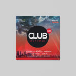 Club Minimal Free PSD Flyer Template