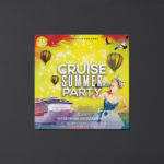 Cruise Summer Free PSD Flyer Template