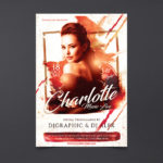 Charlotte Music Live Free PSD Flyer Template