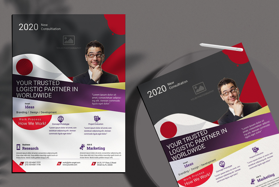 Creative Corporate Free PSD Flyer Template