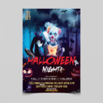 Halloween Nightmare Free PSD Flyer Template