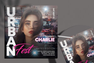 Urban Fest Free PSD Flyer Template