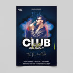 Club Night Out Free PSD Flyer Template