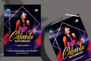 Dj Club Event Free Flyer PSD Template