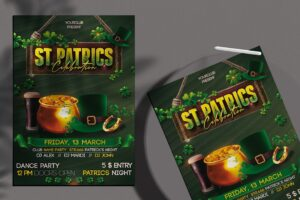 St Patricks Day - Flyer PSD Template