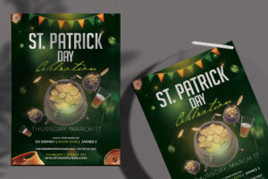 St.Patrick's Day Free PSD Flyer Template