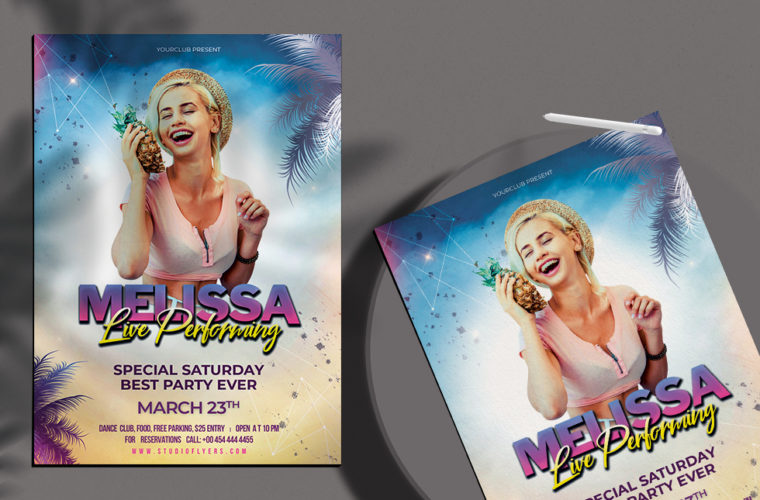 Summer Vibe - PSD Flyer Template