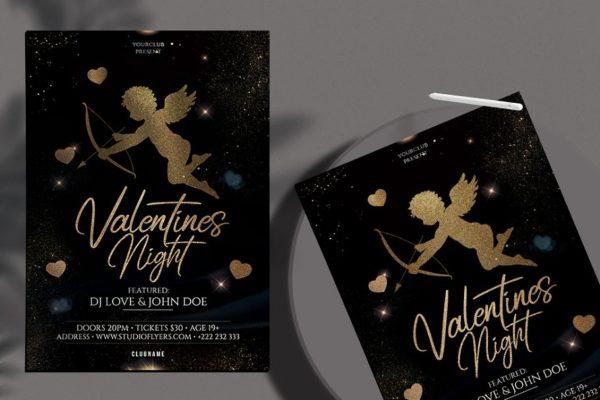 Valentine's - Elegant PSD Flyer