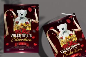 Valentine's - Luxury PSD Flyer