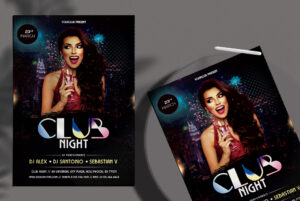 Club Night - PSD Flyer Template
