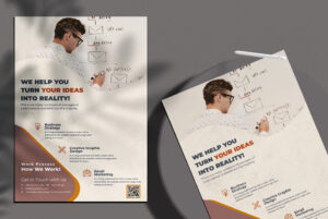 Marketing & Agency Free PSD Flyer Template