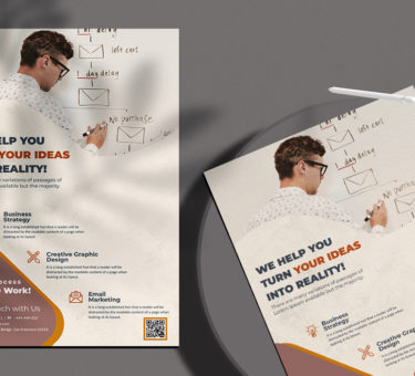 Marketing & Agency Free PSD Flyer