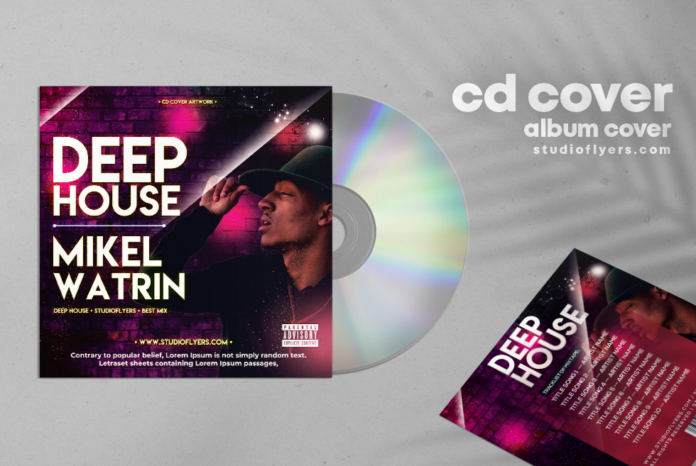 Deep House Artwork Free CD Cover