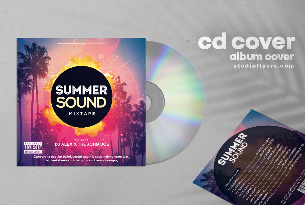 Summer Sound Mixtape Free CD Cover