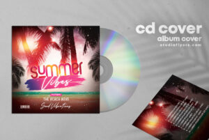 DJ Cover Mixtape Free PSD Cover Album