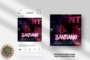 Dj Event - PSD Flyer Template