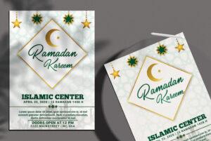 Ramadan Kareem vol.2 Free PSD Flyer Template