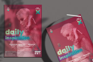 New Season Fashion Flyer Free PSD Template