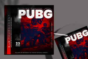 Gaming Tournaments Free PSD Flyer Template