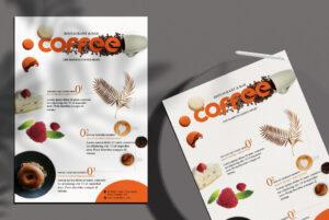 Coffee Menu Free PSD Flyer Template