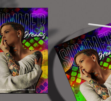 Summer Dreams Flyer Free PSD Template