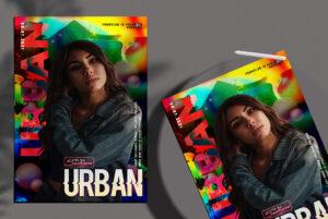 Urban Night Event Flyer Free PSD Template