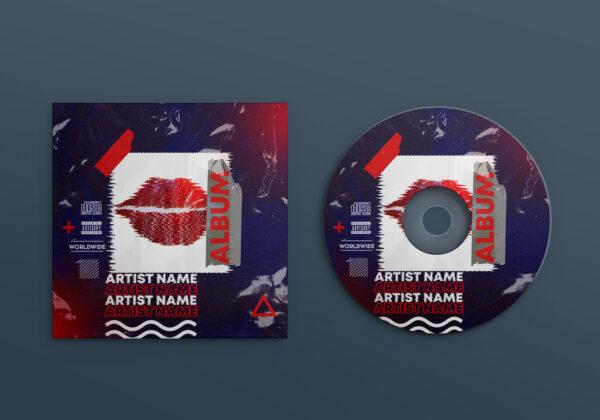 Artist Song Cover Design PSD Template